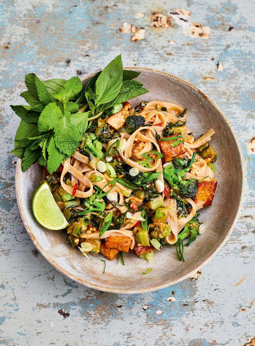 meera sodha vegan recipes peanut butter pad thai east cookbook