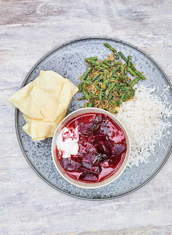 meera sodha curry recipes vegan beetroot curry east cookbook