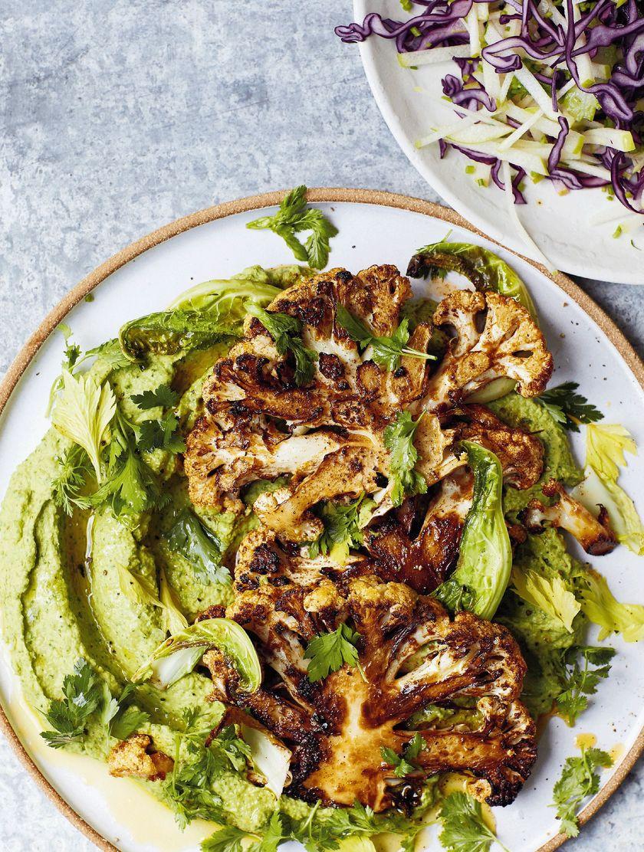 Vegan Weekend Recipes Melissa Hemsley Chermoula Cauliflower