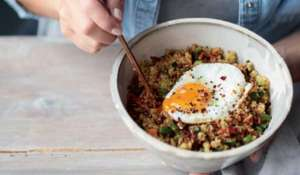 Melissa Hemsley's Chinese Fried Quinoa with Spicy Garlic Sesame Oil Recipe