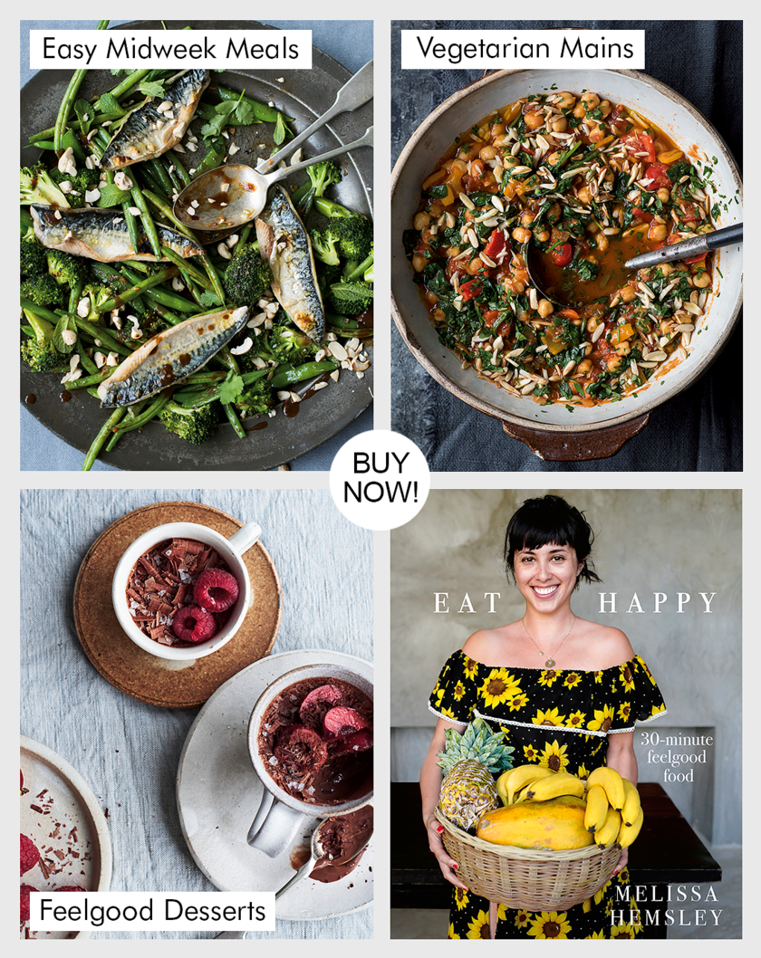 Eat Happy by Melissa Hemsley cookbook 2018