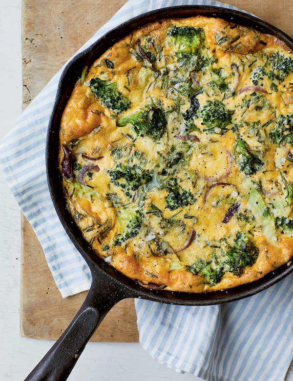 melissa hemsley fridge raid frittata broccoli