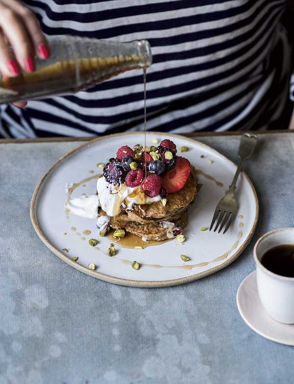 perfect quinoa banana pancakes gluten free pancake melissa hemsley eat happy