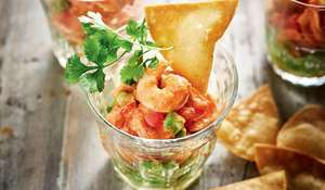Rick Stein's Mexican Prawn Cocktail with Tomato, Avocado and Chipotle