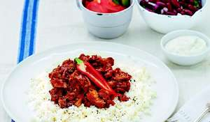 Melting Beef with Cauliflower Rice by Millie Macintosh