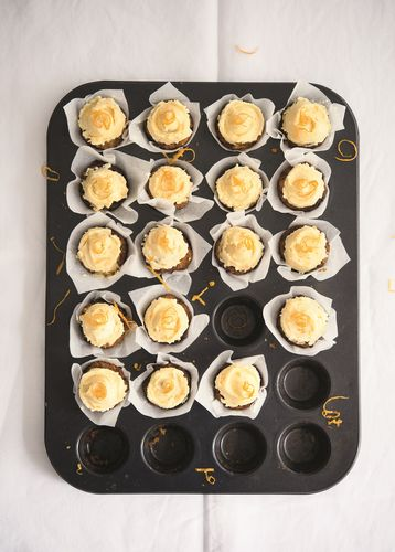Mini Carrot Cakes from Amelia Freer's Cook. Nourish. Glow.
