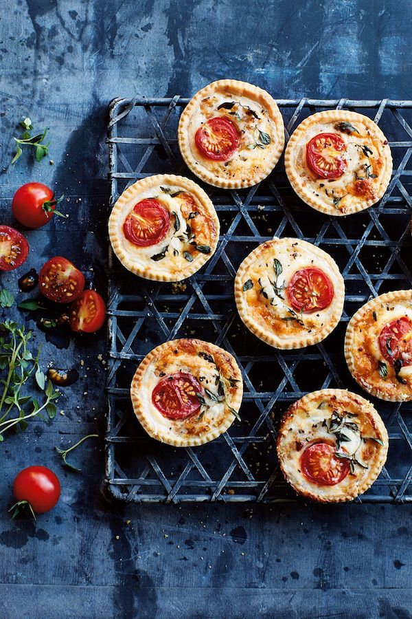 best christmas canape recipes annabel karmel mini cheese and tomato tarts