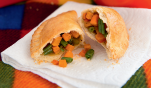 Minute Picnic Pasties from The Little Book of Pies