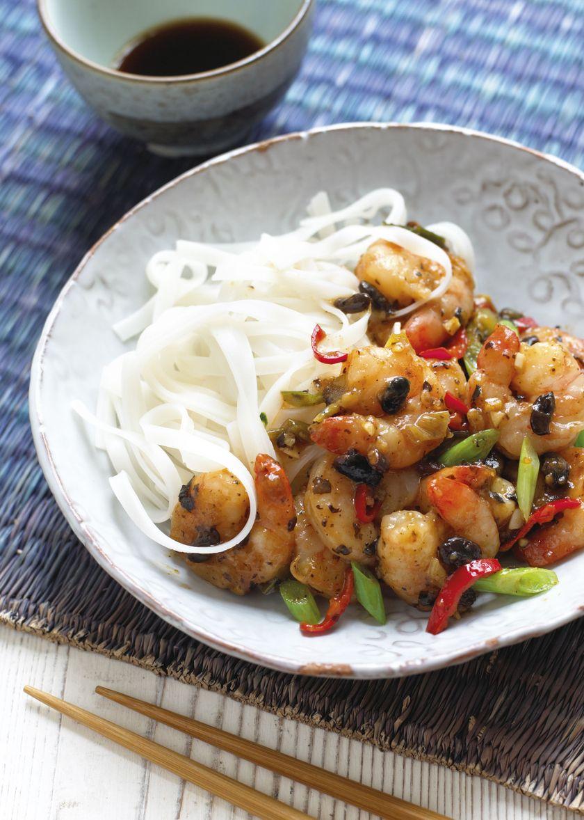 Ken Hom Authentic Chinese Prawn Stir Fry