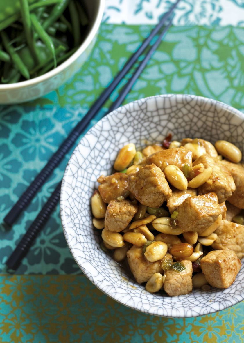 Ken Hom Authentic Chinese Pork with Peanuts