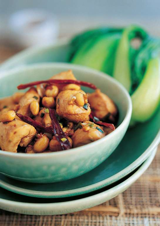 Spicy Chicken with Peanuts