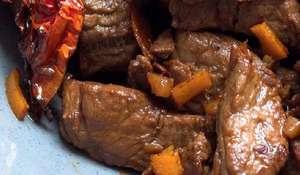 Beef with Orange