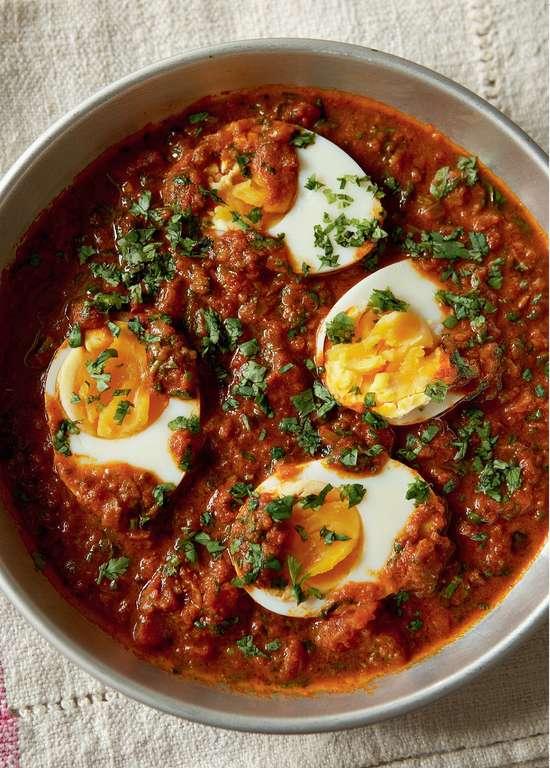 Hard-boiled Eggs Masala