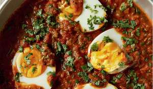 Hard-boiled Eggs Masala