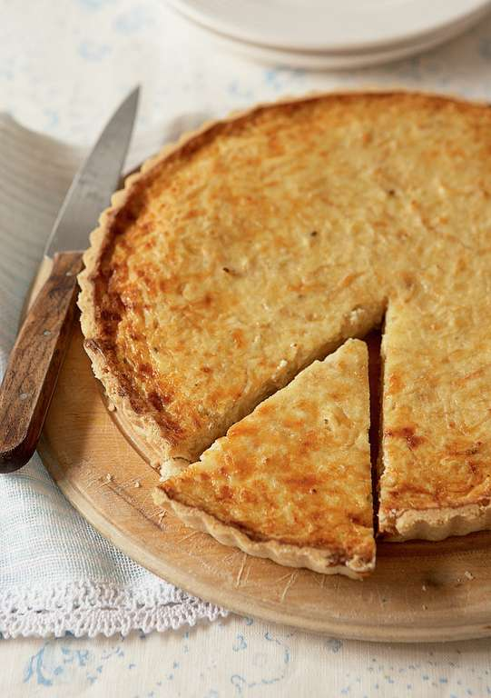 Caramelised Onion and Gruyère Tart