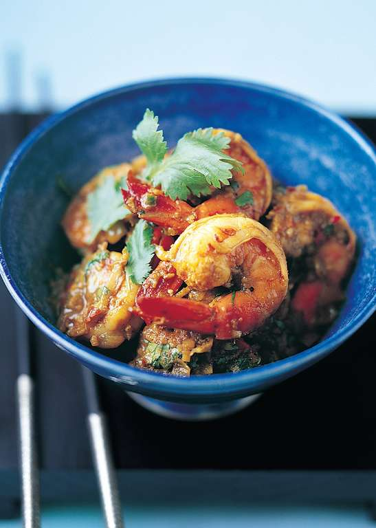 Hot and Sour Indonesian Prawns