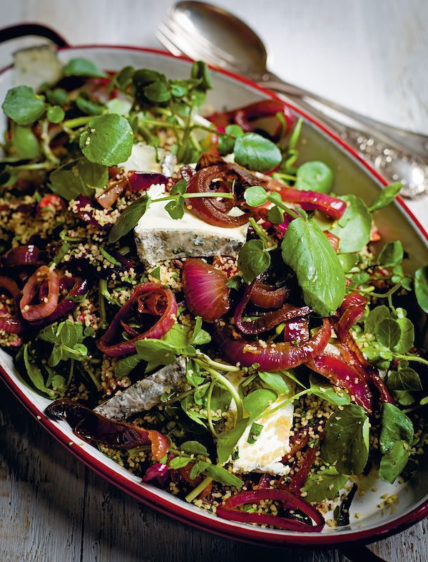easy couscous salad recipes summer cherry olive goats cheese salad the modern pantry
