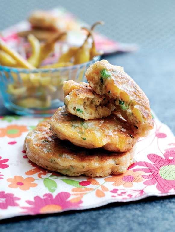 Sweetcorn and Chilli Pancakes