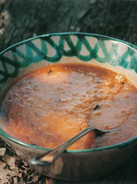 Sopa De Castañas (Chestnut and Chorizo Soup)