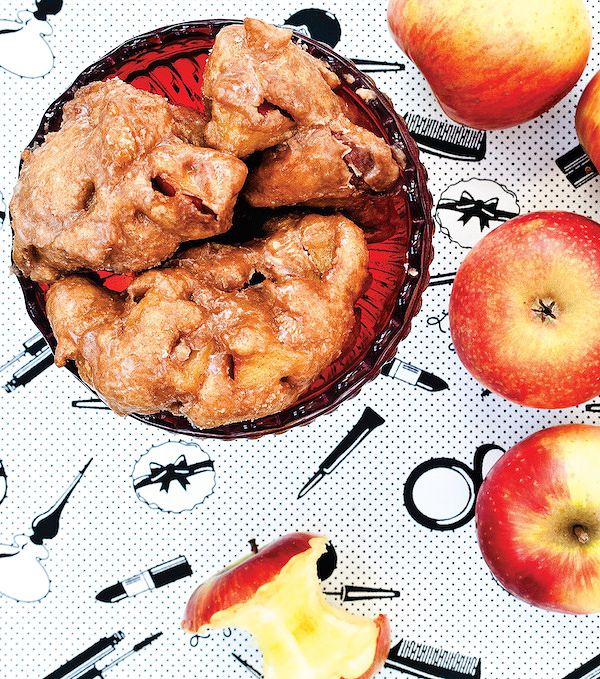 vegan apple fritter recipe
