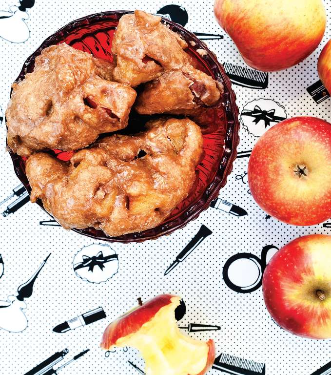 Vegan Apple Fritters