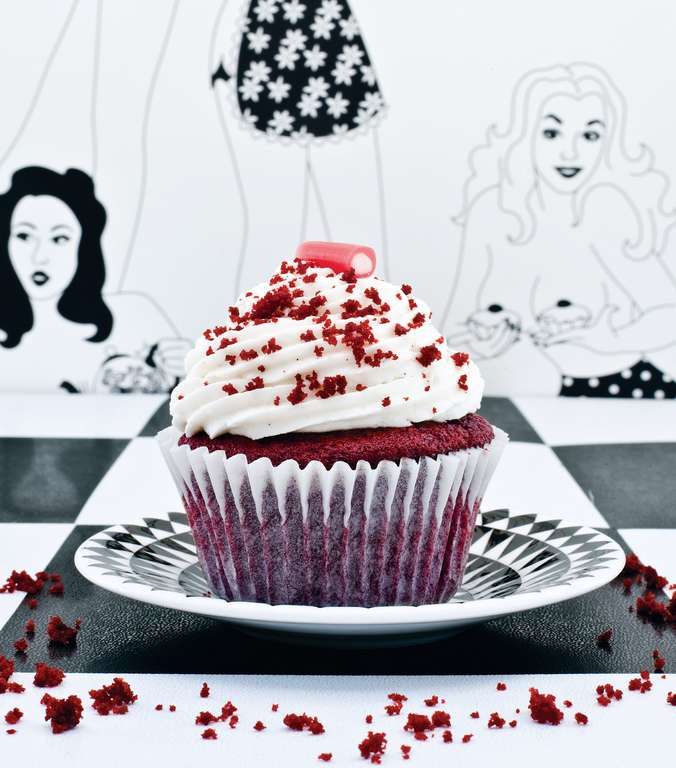 Vegan Red Velvet Cupcakes