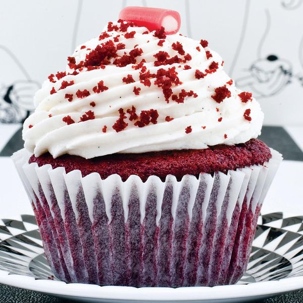 You Wouldnt Believe These Red Velvet Cupcakes Are Vegan This Decadent Dairy Free Recipe Combines Soya Milk And Cider Vinegar For A Rich Chocolate Sponge