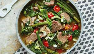 Mum's Philippine Beef Sinigang from Good + Simple