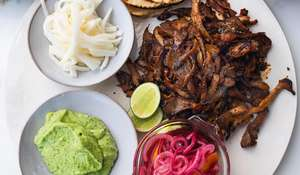 Ottolenghi Oyster Mushroom Tacos| Easy Vegan Mexican Meal