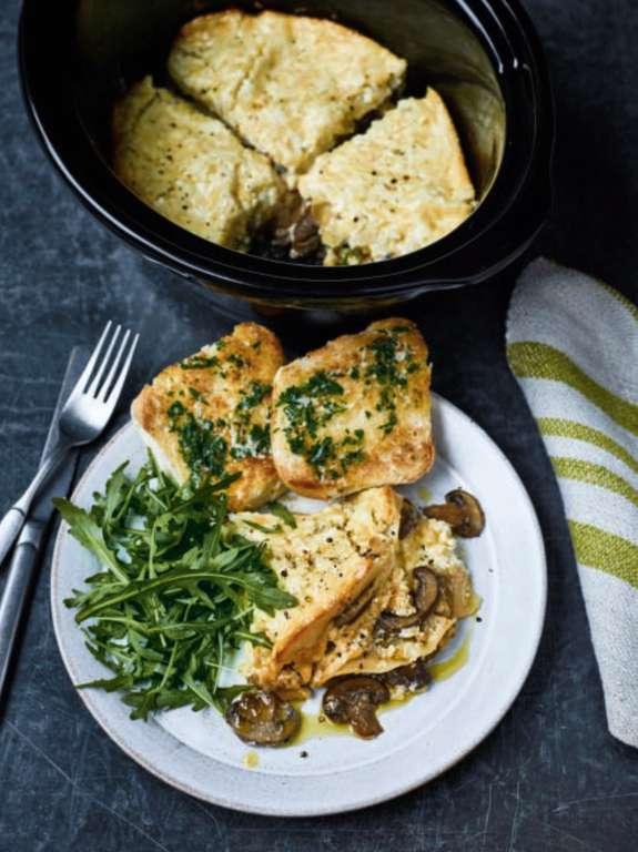Nadiya Hussain's Slow Cooker Mushroom Lasagne