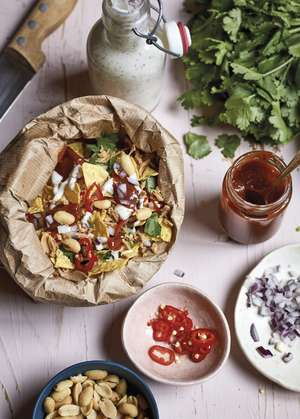 Nadiya Hussain's Chaat in a Bag Recipe | Nadiya's Best Vegetarian Recipes