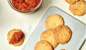 Nadiya Hussain's Cheese Biscuits & Tomato Jam Recipe | Family Favourites