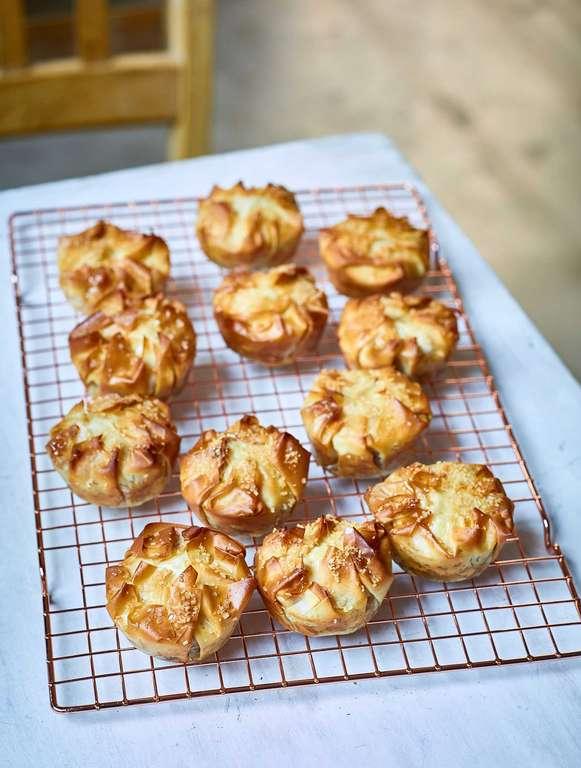 Nadiya Hussain's Apple Palm Pies