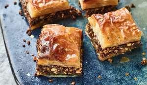 Nadiya Hussain's Chocolate and Orange Baklava   BBC Time to Eat