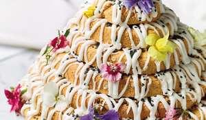 Nadiya Hussain Kransekake Biscuit Tower Recipe | BBC2 Nadiya Bakes
