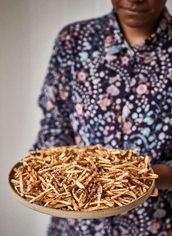 Nadiya Hussain's Furikake Fries