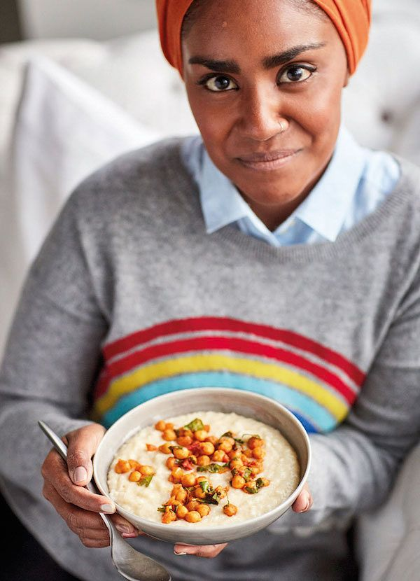 ginger rice and chickpeas recipes by nadiya hussain