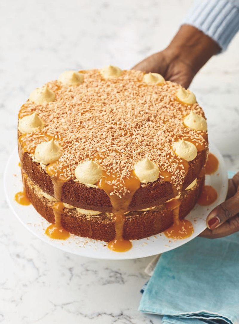 10 best nadiya desserts mango and coconut yoghurt cake nadiya bakes