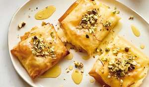 Nadiya Hussain Filo Cream Parcels Recipe | BBC2 Nadiya Bakes