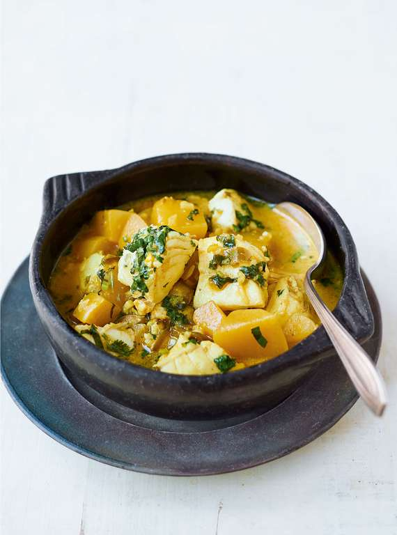 Nadiya Hussain's Green Mango and Fish Curry