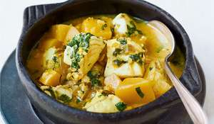Nadiya Hussain's Green Mango and Fish Curry Recipe