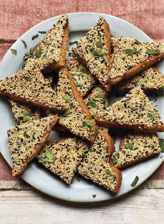 Nadiya Hussain's Not Prawn Toast