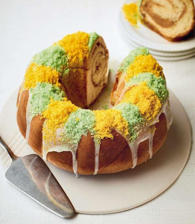 Nadiya Hussain's Praline King Cake