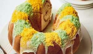 Nadiya Hussain Praline King Cake Recipe | BBC2 Nadiya Bakes