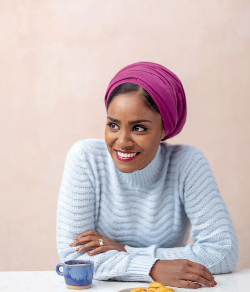 sharing chocolate fondant Nadiya Bakes Nadiya Hussain's best bakes to feed a crowd nadiya bakes