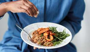 Nadiya Hussain's Squid Bulgur Wheat Risotto Recipe | Nadiya's Family Favourites