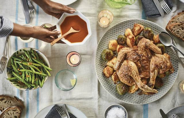 Nadiya Hussain Sunday Lunch Roast Chicken Recipe Family Favourites