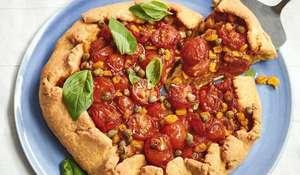 Nadiya Hussain Tomato Galette Recipe | BBC2 Nadiya Bakes