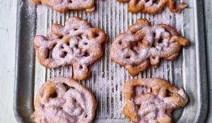 Nadiya Hussain's Milkshake Funnel Cake | BBC Time to Eat
