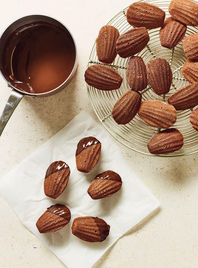 Nadiya Bakes BBC2 Chocolate Grapefruit Madeleines